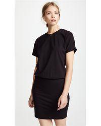 Monrow - Drop Shoulder Dress - Lyst