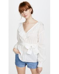 St. Roche - Camille Blouse - Lyst