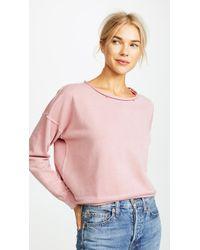AMO - Boxy Sweatshirt - Lyst