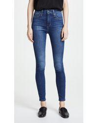 Joe's Jeans - High Rise Honey Skinny Jeans - Lyst