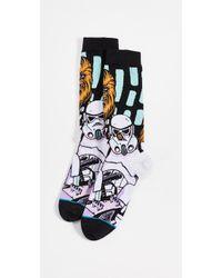 Stance - Warped Chewbacca Socks - Lyst