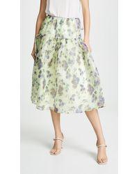 Leur Logette - Antique Flower Skirt - Lyst