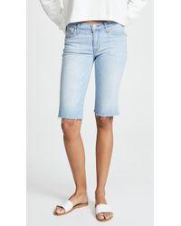 Hudson Jeans - Amelia Cutoff Knee Shorts - Lyst