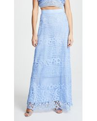 Miguelina - Starlight Lace Asher Skirt - Lyst