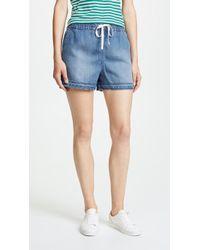 Splendid - Indigo Shorts - Lyst