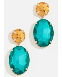 BaubleBar - Oval Drop Earrings - Lyst