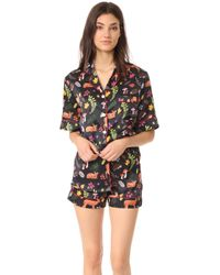 Karen Mabon - Forest Fawns Short Pj Set - Lyst