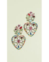 DANNIJO - Camellias Earrings - Lyst