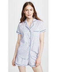 Roberta Roller Rabbit - Flamingo Circle Polo Pajama Set - Lyst