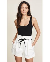 Getting Back to Square One - Square Neck Thong Bodysuit - Lyst