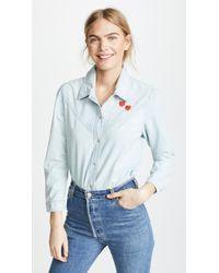AMO - Georgia Shirt - Lyst