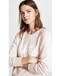 Zadig & Voltaire - Upper Print Sweatshirt - Lyst