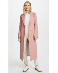 Nicholas - Long Double Button Coat - Lyst