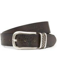 B. Belt - Microstud Belt - Lyst