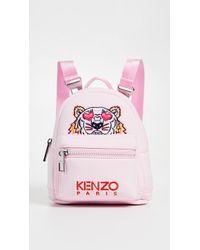 KENZO   I Love You Mini Tiger Backpack   Lyst