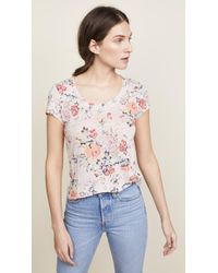 Rebecca Taylor - Marlena Jersey Tee - Lyst