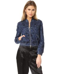 Needle & Thread - Wild Meadow Bomber Jacket - Lyst
