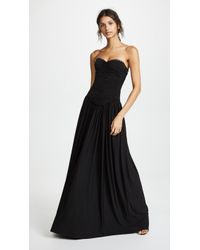 Alexander Wang - Ruched Bodice Gown - Lyst