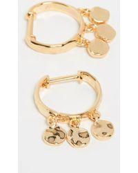 Gorjana - Chloe Mini Huggie Earrings - Lyst