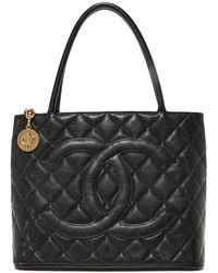 What Goes Around Comes Around - Chanel Medallion Tote (previously Owned) - Lyst