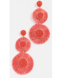BaubleBar - Fringe Drop Earrings - Lyst