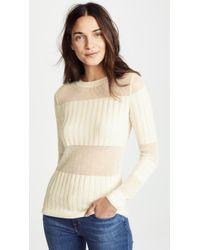 J Brand - Andrea Cashmere Silk Slim Sweater - Lyst