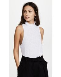 Free People - Topanga Sleeveless Turtleneck - Lyst