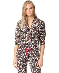 Les Girls, Les Boys - Pyjama Top - Lyst
