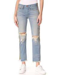 NSF - Maggie Straight Slouch Jeans - Lyst