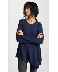 Three Dots - Asymmetrical Tunic Sweater - Lyst