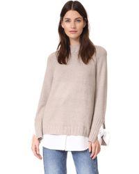 Brochu Walker | Remi Layered Pullover | Lyst