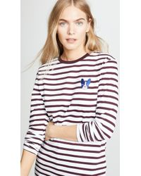 Être Cécile - Dog Badge Long Sleeve T-shirt - Lyst