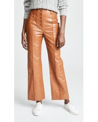 3.1 Phillip Lim - Button Fly Kick Flare Pants - Lyst
