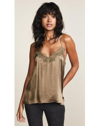 Cami NYC - The Racer Charmeuse Cami - Lyst