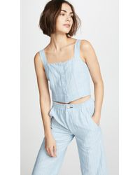 McGuire Denim - Nobody Puts Baby In The Corner Top - Lyst