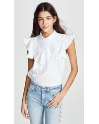 McGuire Denim - Sorbonne Top - Lyst