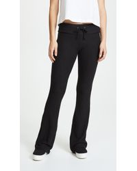 Wildfox - Basic Flare Joggers - Lyst