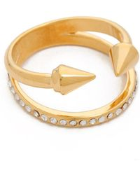Vita Fede - Ultra Mini Titan Crystal Band Ring - Lyst