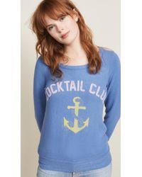 Chaser - Cocktail Club Sweatshirt - Lyst