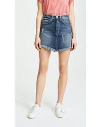 McGuire Denim - Izabel High Rise Miniskirt - Lyst