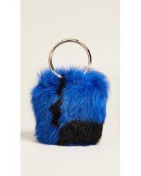 Maison Boinet - Xs Shearling Bucket Bag - Lyst