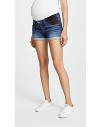 PAIGE - Jimmy Jimmy Maternity Shorts - Lyst