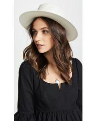 Janessa Leone - Camie Hat - Lyst