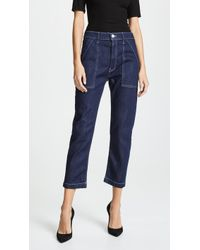 3x1 - Sabine Tapered Chino Jeans - Lyst