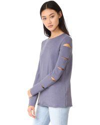 Twenty - Cutout Pullover - Lyst