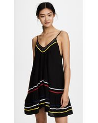 9seed - St Tropez Ruffle Mini Dress - Lyst