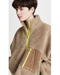Sandy Liang - Dw Fleece Jacket - Lyst