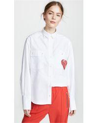 Maison Kitsuné - Verona Button Down Shirt - Lyst