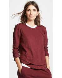 Wilt - Long Sleeve Mock Layer Tee - Lyst