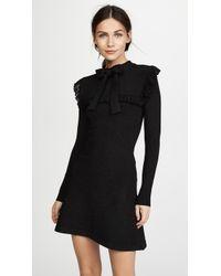 Joos Tricot | Long Sleeve Ruffle Dress | Lyst
